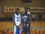Burleigh and Beas at the NACA Nationals in Tennessee (Burleigh's team won the National Championship and Beas' team was runner-up)